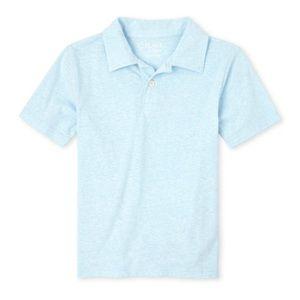 NWT Children's Place Cloud Blue Polo Shirt M(7/8)